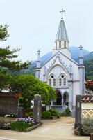 殿町通り 津和野カトリック教会