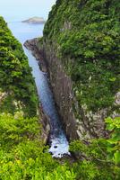 日向岬 馬ヶ背の断崖