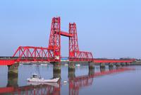 筑後川の昇開橋
