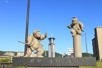 五条大橋 弁慶と牛若丸の像