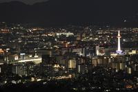 将軍塚から望む京都市街の夜景