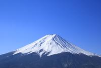 河口湖より富士山 11076013542| 写真素材・ストックフォト・画像・イラスト素材|アマナイメージズ