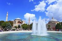 アヤソフィア博物館 スルタンアフメット広場の噴水