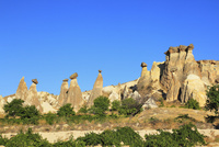 カッパドキヤ チャウシンの奇岩
