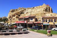 カッパドキヤ ユルギュップの街並みと奇岩