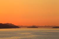 四国最北端の瀬戸内海夕景