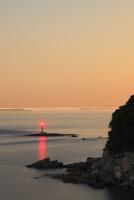 大串岬と瀬戸内海夕景 11076014522| 写真素材・ストックフォト・画像・イラスト素材|アマナイメージズ