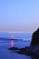 大串岬と瀬戸内海夕景