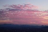 讃岐平野の夕焼け
