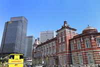 東京駅とハトバス