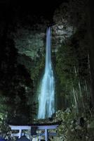 那智の滝ライトアップ夜景