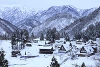 雪の五箇山 相倉合掌集落