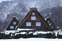 雪の白川郷合掌造り集落