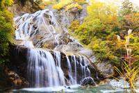 白山スーパー林道 姥ヶ滝と紅葉