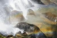 裏磐梯 小野川不動滝と虹