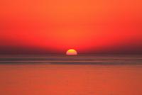 夕日と海 玄界灘