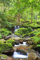 若狭・瓜割の滝 11076018479| 写真素材・ストックフォト・画像・イラスト素材|アマナイメージズ