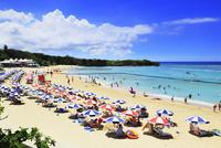 沖縄本島 ニライビーチの海