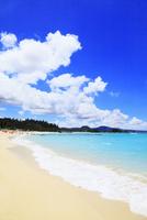 沖縄本島 ブセナビーチの海 11076018941| 写真素材・ストックフォト・画像・イラスト素材|アマナイメージズ