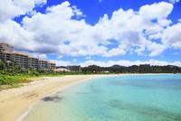 沖縄本島 ブセナビーチの海