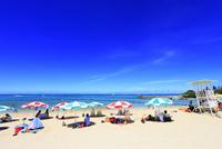 沖縄本島 残波ビーチと海