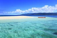 沖縄西表島 バラス島と海 11076019313| 写真素材・ストックフォト・画像・イラスト素材|アマナイメージズ