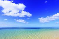 沖縄西表島 南風見田の浜と海