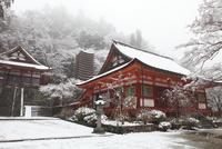 雪の多武峰 談山神社