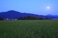 山の辺の道 中秋の名月と三輪山