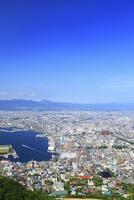 函館山山頂展望台から望む市街眺望