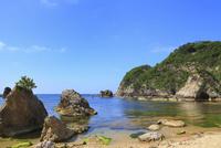 浦富海岸と日本海