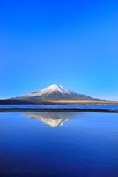 山中湖と逆さ富士