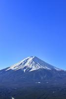 富士河口湖町から富士山