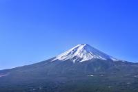 富士河口湖町から富士山 11076022750| 写真素材・ストックフォト・画像・イラスト素材|アマナイメージズ