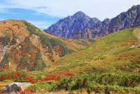 秋の立山・天狗平より望む剣岳
