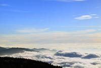 渋峠より雲海と山並み