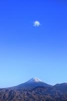 櫛形林道より富士山を望む