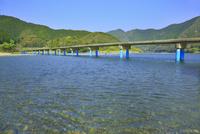 佐田沈下橋と四万十川