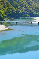 四万十川と岩間沈下橋