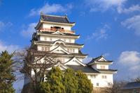 福山城 11076026991| 写真素材・ストックフォト・画像・イラスト素材|アマナイメージズ