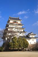 福山城 11076026992| 写真素材・ストックフォト・画像・イラスト素材|アマナイメージズ