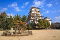 福山城 11076026993| 写真素材・ストックフォト・画像・イラスト素材|アマナイメージズ