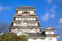 福山城 11076026995| 写真素材・ストックフォト・画像・イラスト素材|アマナイメージズ