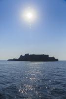 長崎 軍艦島 11076027072| 写真素材・ストックフォト・画像・イラスト素材|アマナイメージズ