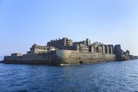 長崎 軍艦島 11076027073| 写真素材・ストックフォト・画像・イラスト素材|アマナイメージズ