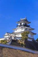 掛川城 11076027111  写真素材・ストックフォト・画像・イラスト素材 アマナイメージズ
