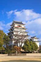 福山城 11076027122| 写真素材・ストックフォト・画像・イラスト素材|アマナイメージズ