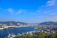 長崎 鍋冠山から望む長崎市街