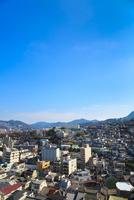 長崎 南山手から望む長崎の街並み 11076027214| 写真素材・ストックフォト・画像・イラスト素材|アマナイメージズ