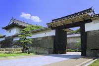 大阪城 大手口土橋大手門と多聞櫓